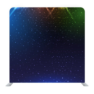 Sparkling Night Sky Texture Media Wall