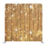 Sparkly wooden Media Wall