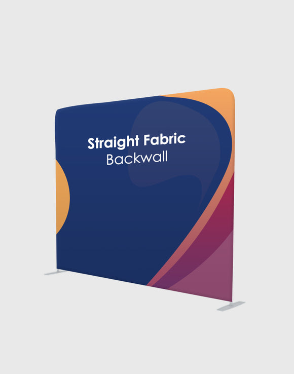 STRAIGHT TENSION FABRIC MEDIA WALL