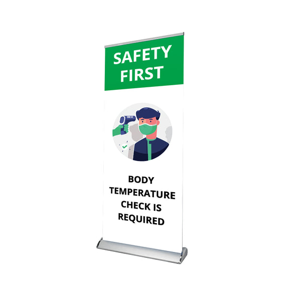 Testing Sign Retractable Banner - 05