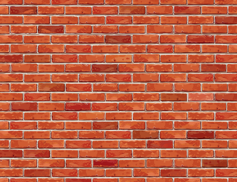 Vector Red Brick Wall Wallpaper