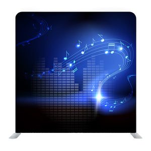 Vector Background With Musical Notes Background Media Wall