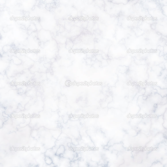 White Marble Wall Indelible Print Fabric Backdrop