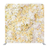 White chrysanthemum flower Media wall