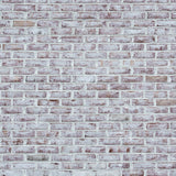 Whitewashed Brick Wall Texture Background