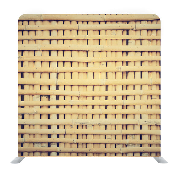Woven Bamboo Background Media Wall