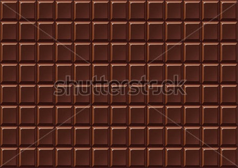 Bar of Hickory Milk Chocolate Indelible Print Fabric Backdrop