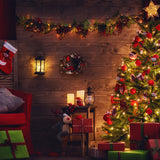 Beautiful Living Room Decorated for Christmas