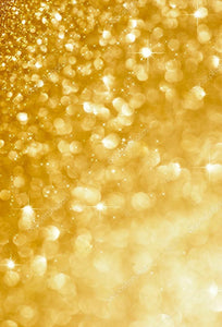 Gold Blinking Glitter Print Photography Backdrop