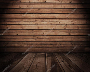 Wooden Interior Print Photography Backdrop