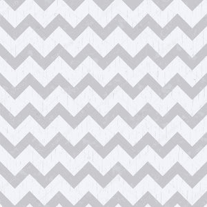 White and Grey Chevron Print Photography Backdrop