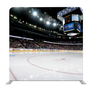 Hockey And Skating Stadium Indoor 3D Render  Backdrop