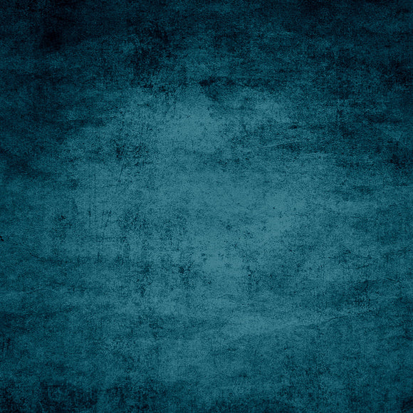 Old Dramatic Dark Blue Texture Closeup Background