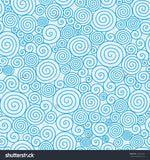 Light Blue Swirl Print Photography Backdrop