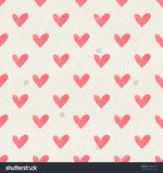 Watercolor Heart Pattern Indelible Print Fabric Backdrop