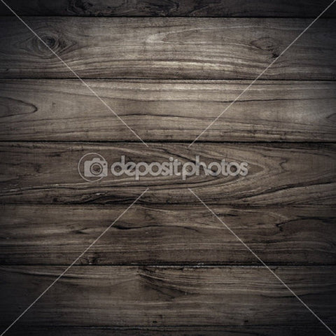 Distressed Black Wood Theme Print Photography Backdrop