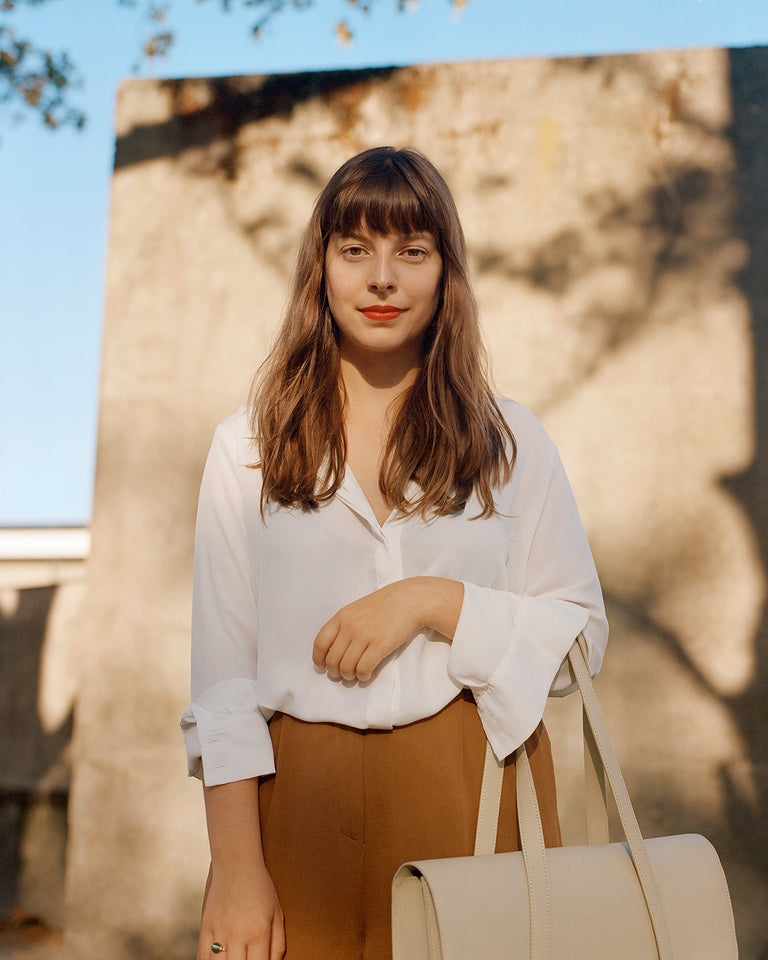 Meet Eline, the person behind our first laptop bag