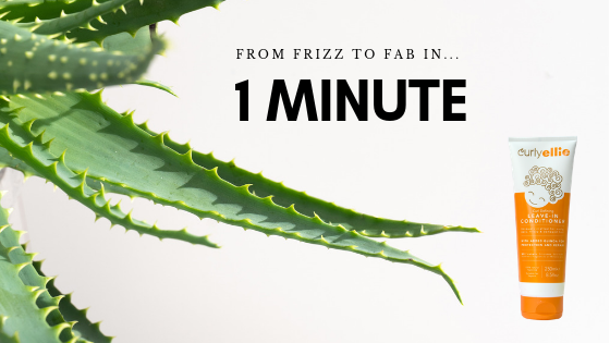 One minute to fab frizz free curls