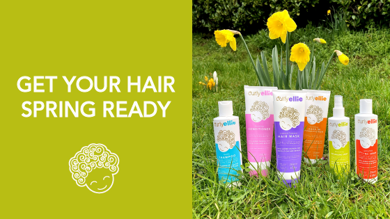Getting your hair spring ready with CurlyEllie