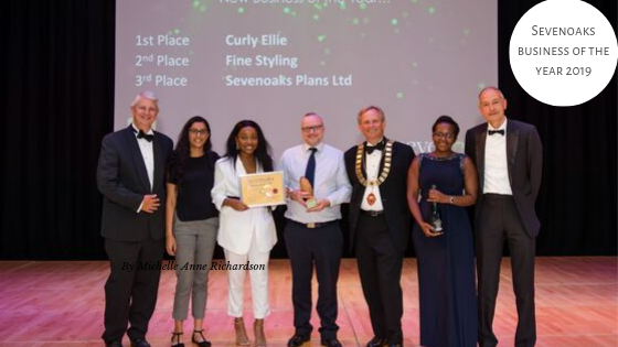 CurlyEllie Named Sevenoaks Business of the Year 2019
