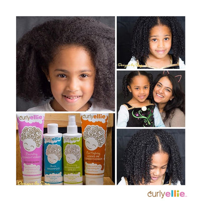 Hair story : CurlyEllie brings natural curls to life