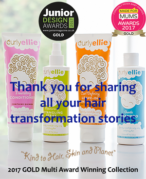 Curl Transformations Stories with CurlyEllie