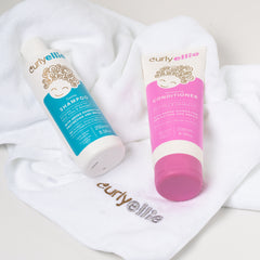 CurlyEllie Shampoo and Conditioner