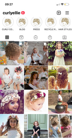 Wedding Hair Styles for Curly Kids