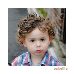 Curly Hair boy loving curlyellie