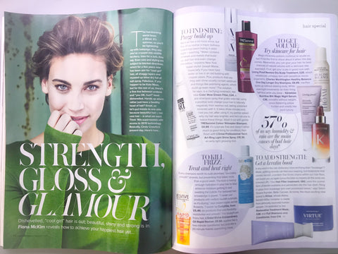 est Frizzy Hair Care according to Woman and Home Magazine