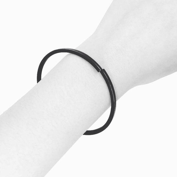 Black Signature Bracelet - Laboratory S
