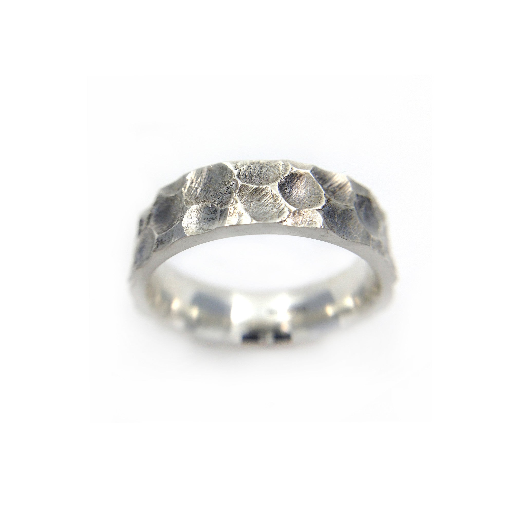 Silver ring by Lion Studio