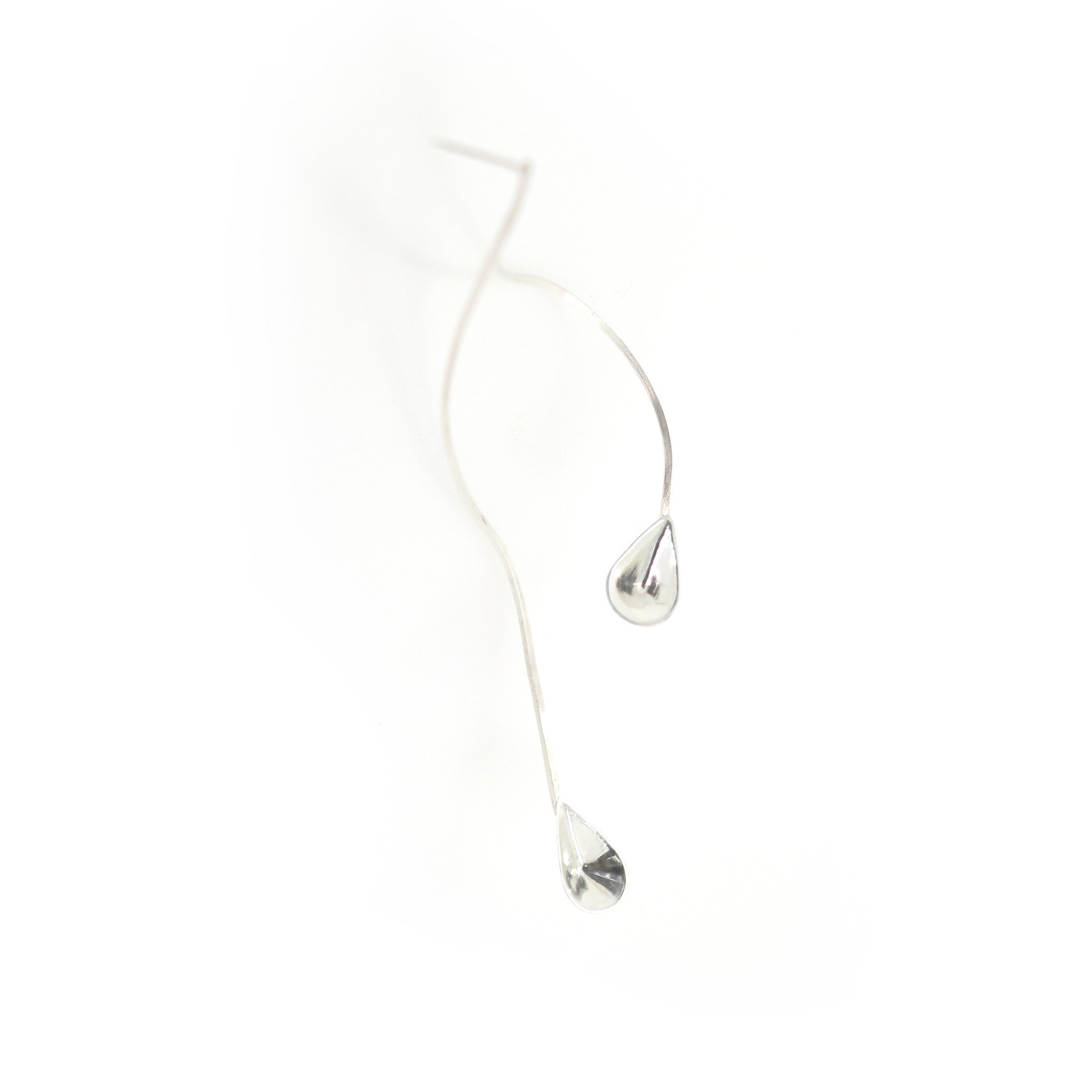 Double Water Drop Long Earring by Lion Studio - Laboratory S