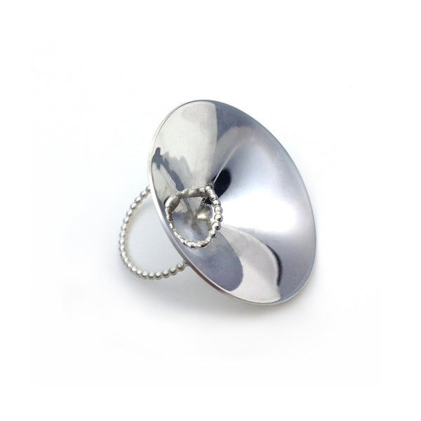 LS16S Silver Ring by Lion Studio - Laboratory S