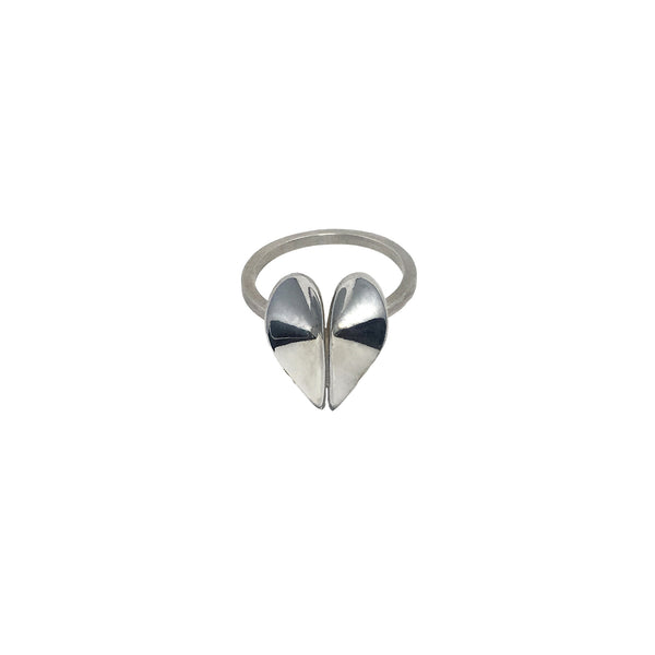Double Water Drop Ring by Lion Studio - Laboratory S
