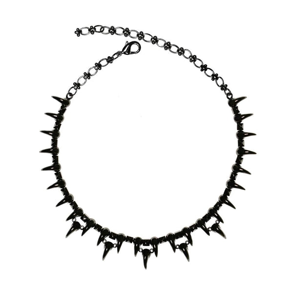 Emery black necklace by Lion studio