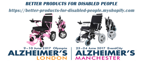 Better Products at Alzheimer's show in Manchester (23-24 June 2017)