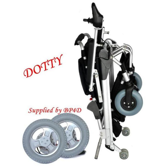 Dotty quick release rear wheel supplied by BP4D