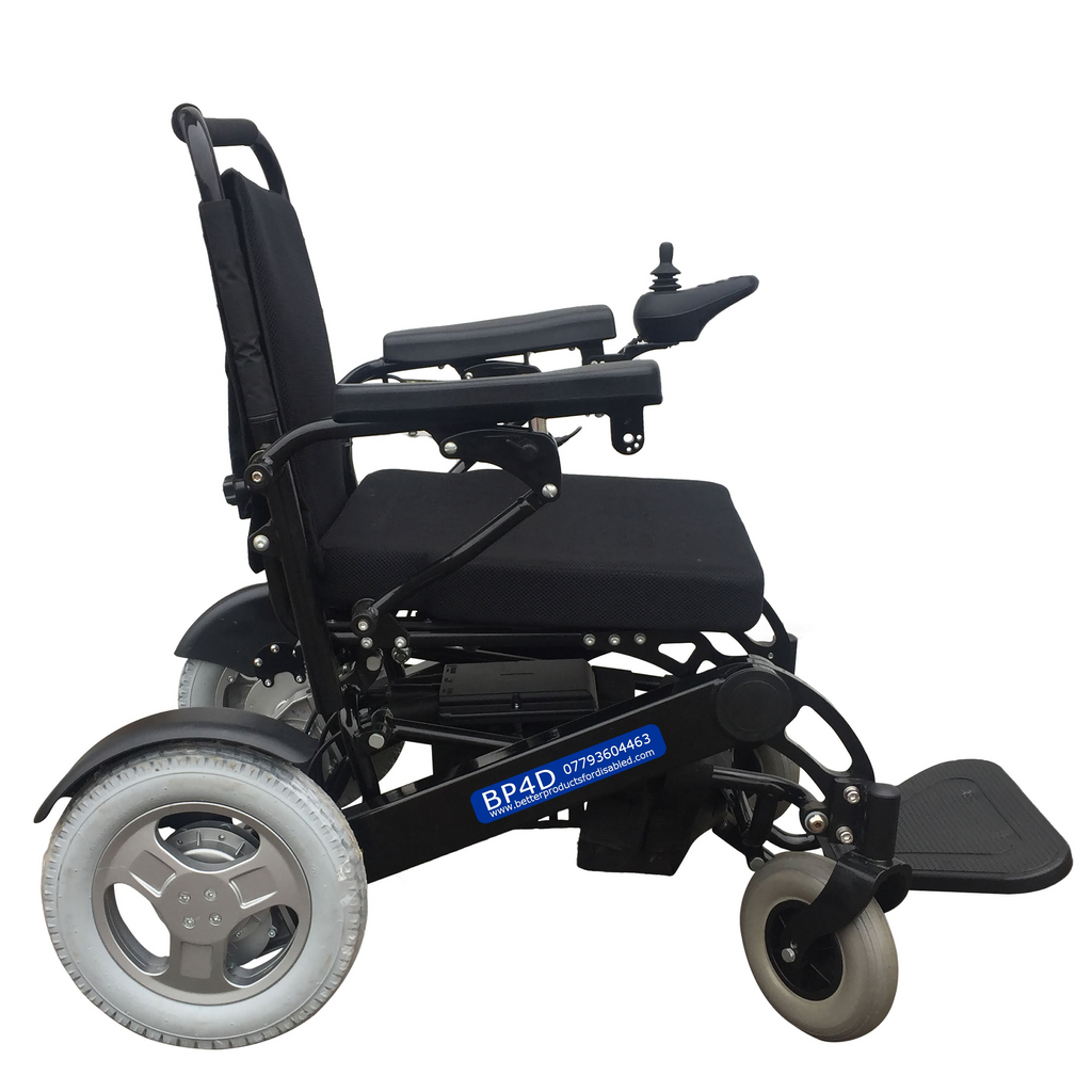 F19 folding electric wheelchair supplied by BP4D