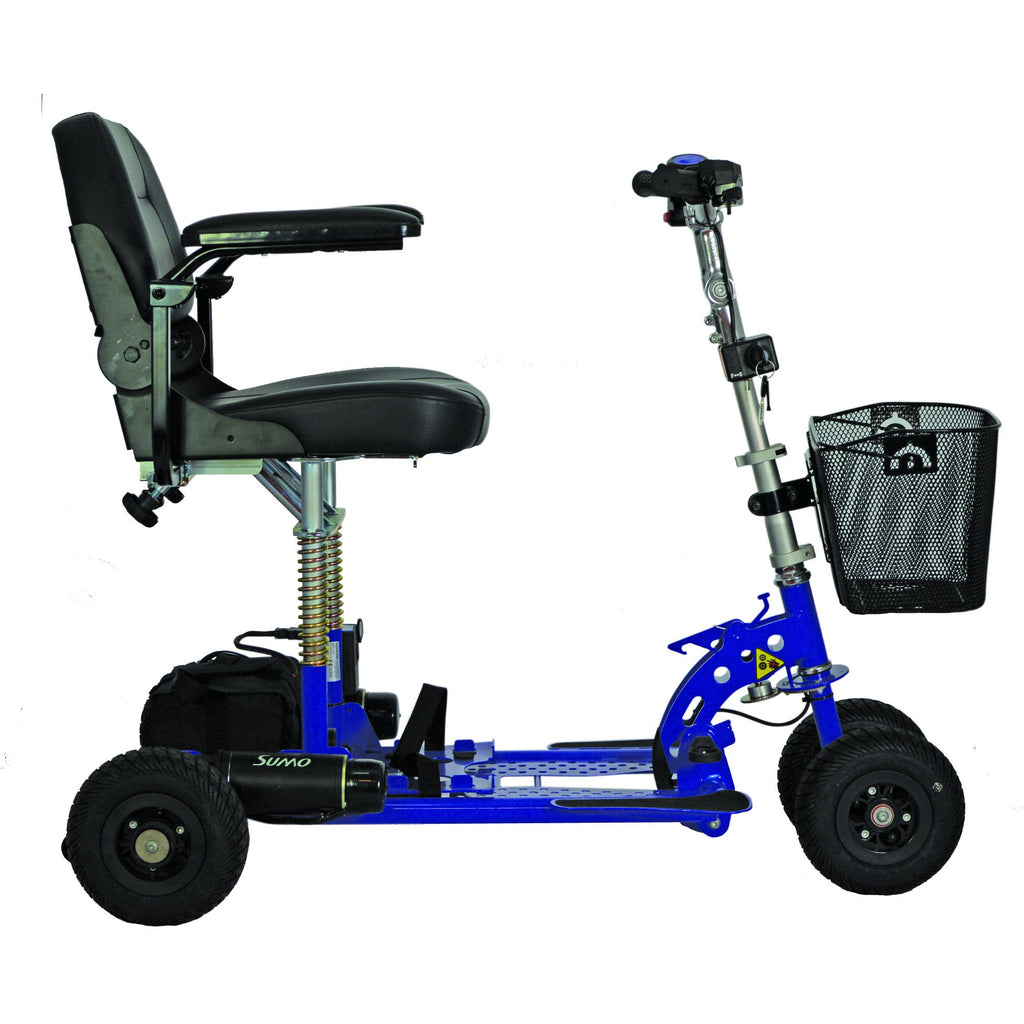 Spartan Four wheel  Mobility Scooter supplied by BP4D