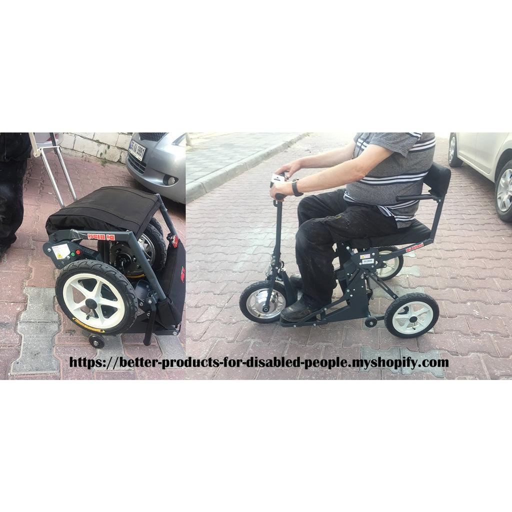 DB-3 WHEEL AUTOMATIC FOLDING MOBILITY SCOOTER supplied by BP4D