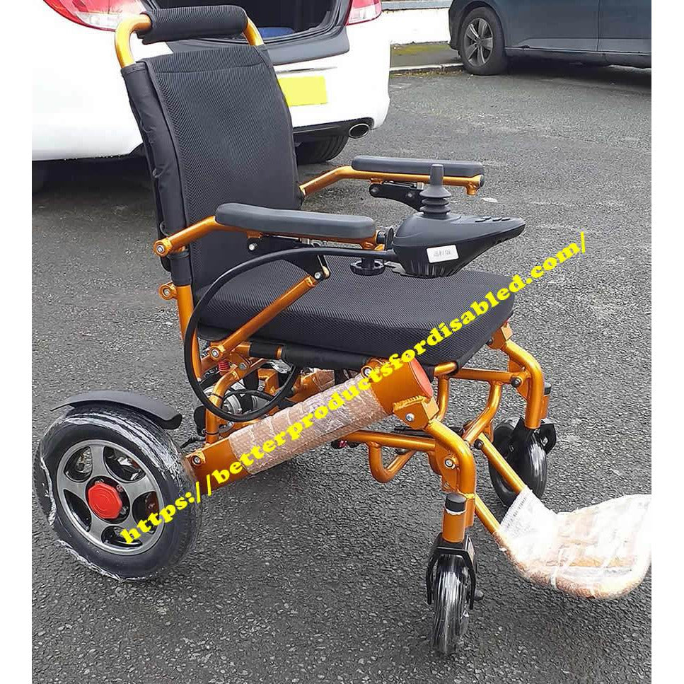 GOLD19 FOLDING ELECTRIC WHEELCHAIR BY BP4D
