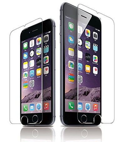 Power Theory iPhone 8 Plus Screen Protectors [2-Pack] Premium Tempered Glass Screen Protector with Easy App Install Kit for Apple iPhone8 Plus