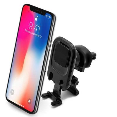 Power Theory Magnetic Car Phone Holder - Universal Air Vent Cell Phone Mount for iPhone XS Max XR XS/X 8 7 Plus 6s 6 SE Samsung Galaxy S5 S6 S7 and other Smartphones - In-Car