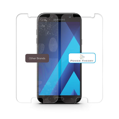Galaxy J3 Screen Protector [2-Pack] Premium Tempered Glass Screen Protector for Samsung Galaxy J3 by Power Theory