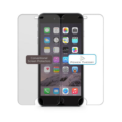 Power Theory iPhone 7 Plus / 8 Plus Screen Protectors [1-Pack] Premium Tempered Glass Screen Protector with Easy App Install Kit for Apple iPhone7/iPhone8 Plus