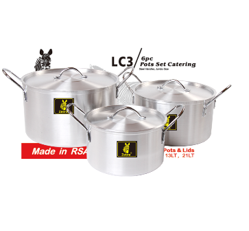 LC3 Catering Pots Set