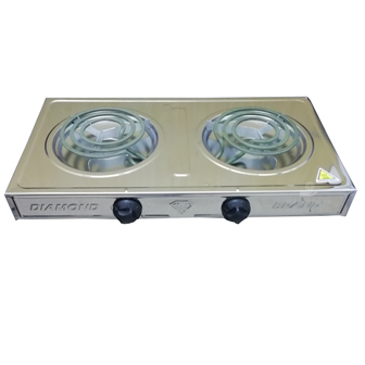 Hot Plate Diamond Stainless Steel