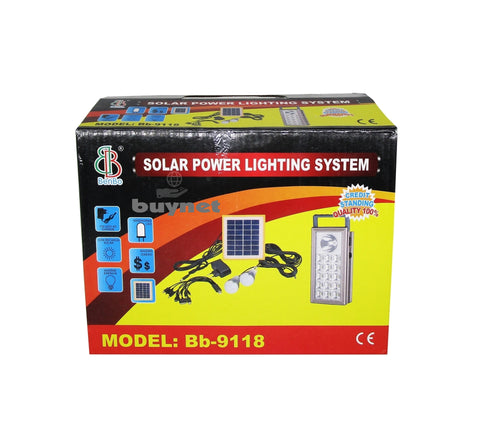 BS-3710 Solar lighting system