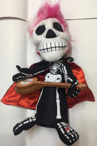 Skeleton Singing Doll